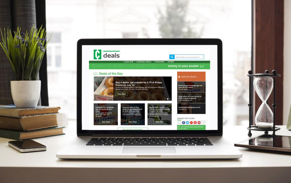 Clark Deals Site