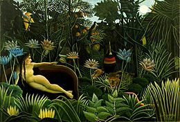 Dream by Henri Rousseau