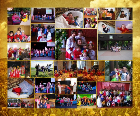 Glimpses from the various summer camps in Ukraine