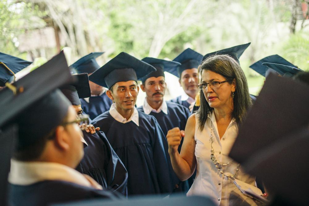 GLOMOS Graduation in El Farro, Guatemala - October 11, 2014
