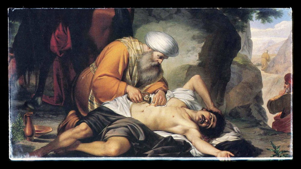 The Good Samaritan by G. Conti (Accascina) [Public domain], via Wikimedia Commons