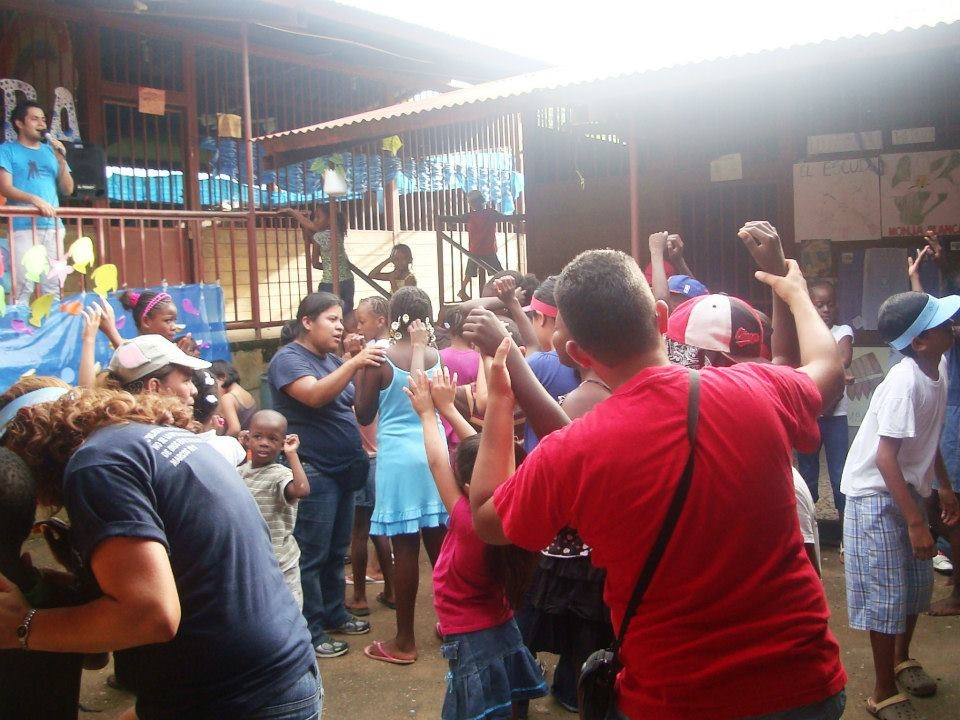An outreach in Livingston, Guatemala, among the Garifuna People