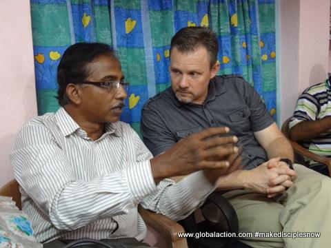 Pastor Tarun shearing his experience.JPG