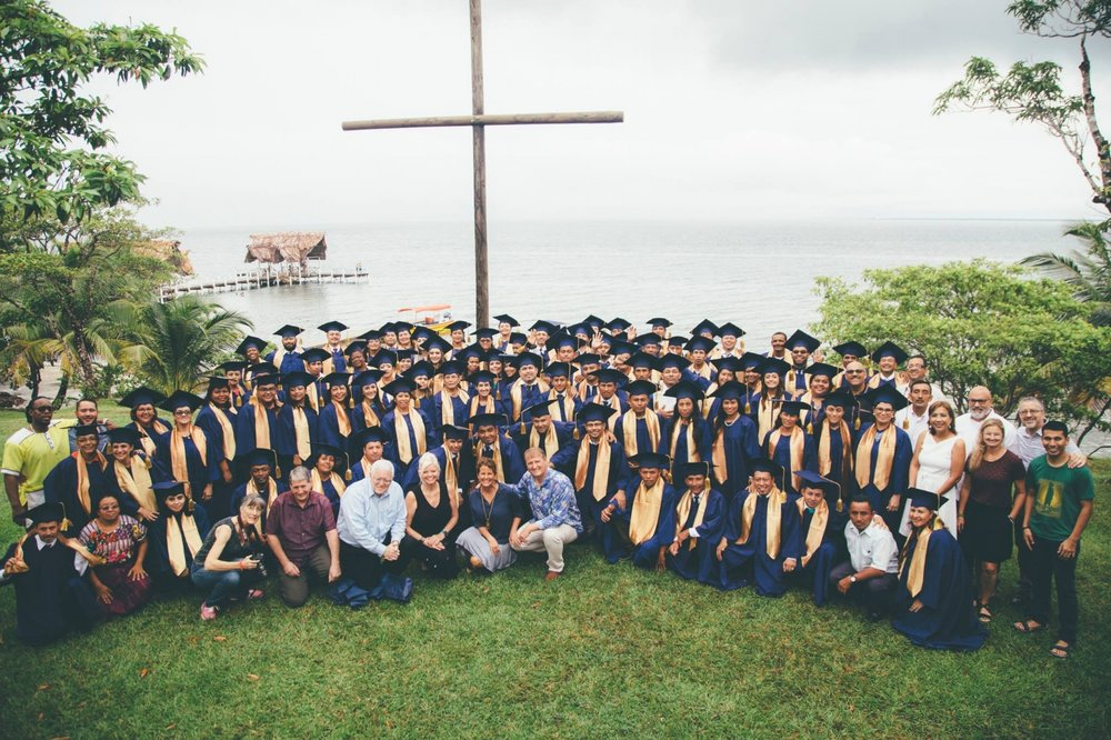GLOMOS Graduation in El Faro, Guatemala; October 19 2017.