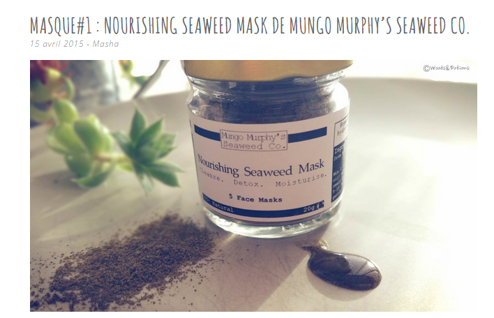 WoodsandPotions_MungoMurphy_SeaweedFaceMask_Review