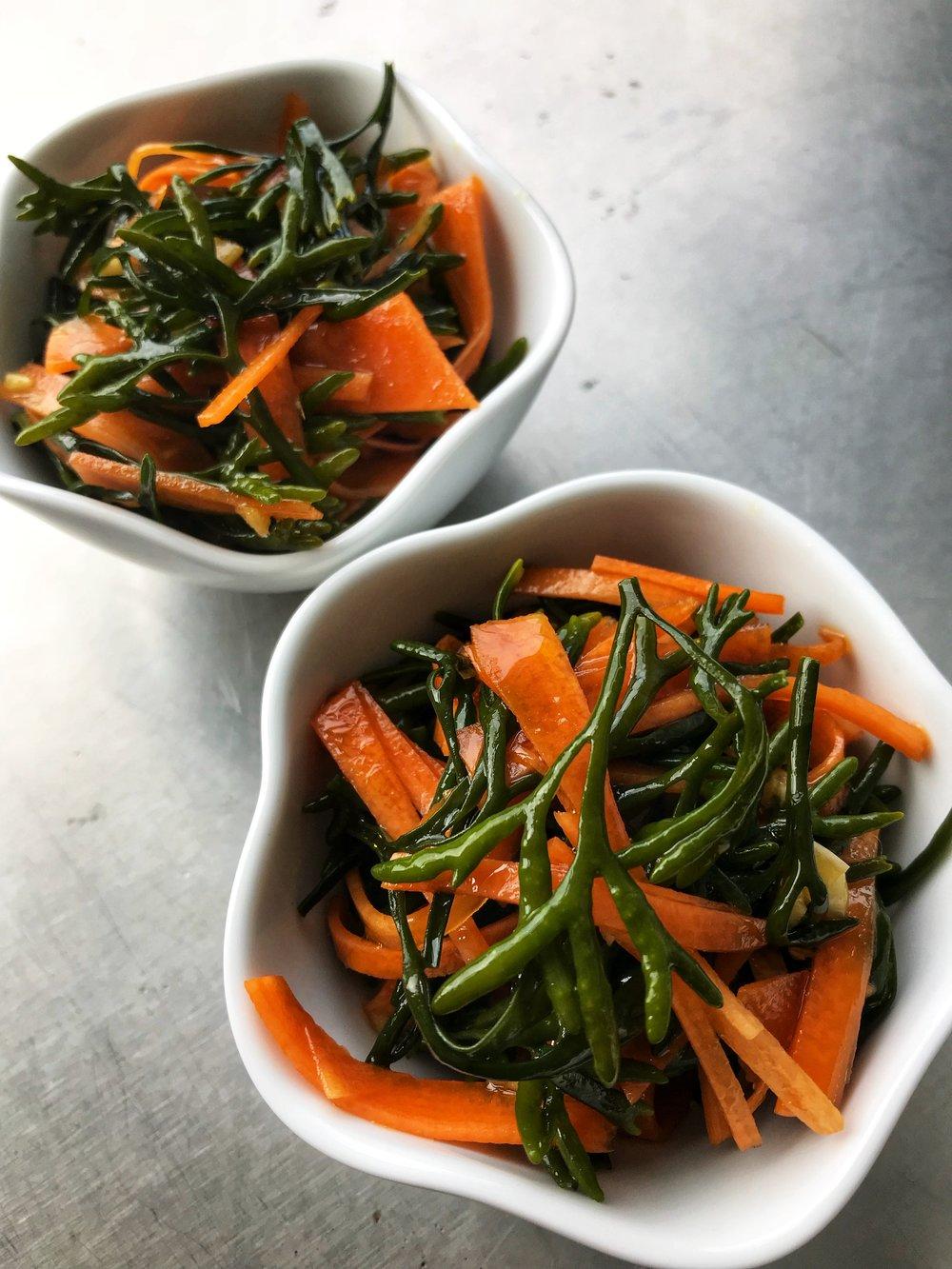 Channel Wrack Seaweed Salad