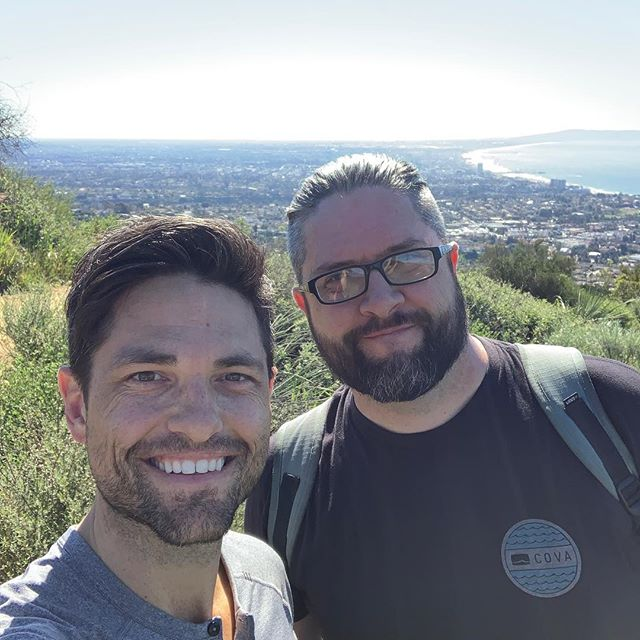 Brother's in town. Gotta hike.