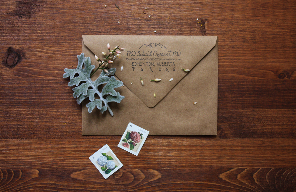 Custom+Stamp+Rustic+Wedding+Invitations+|+Thistle+and+Dew
