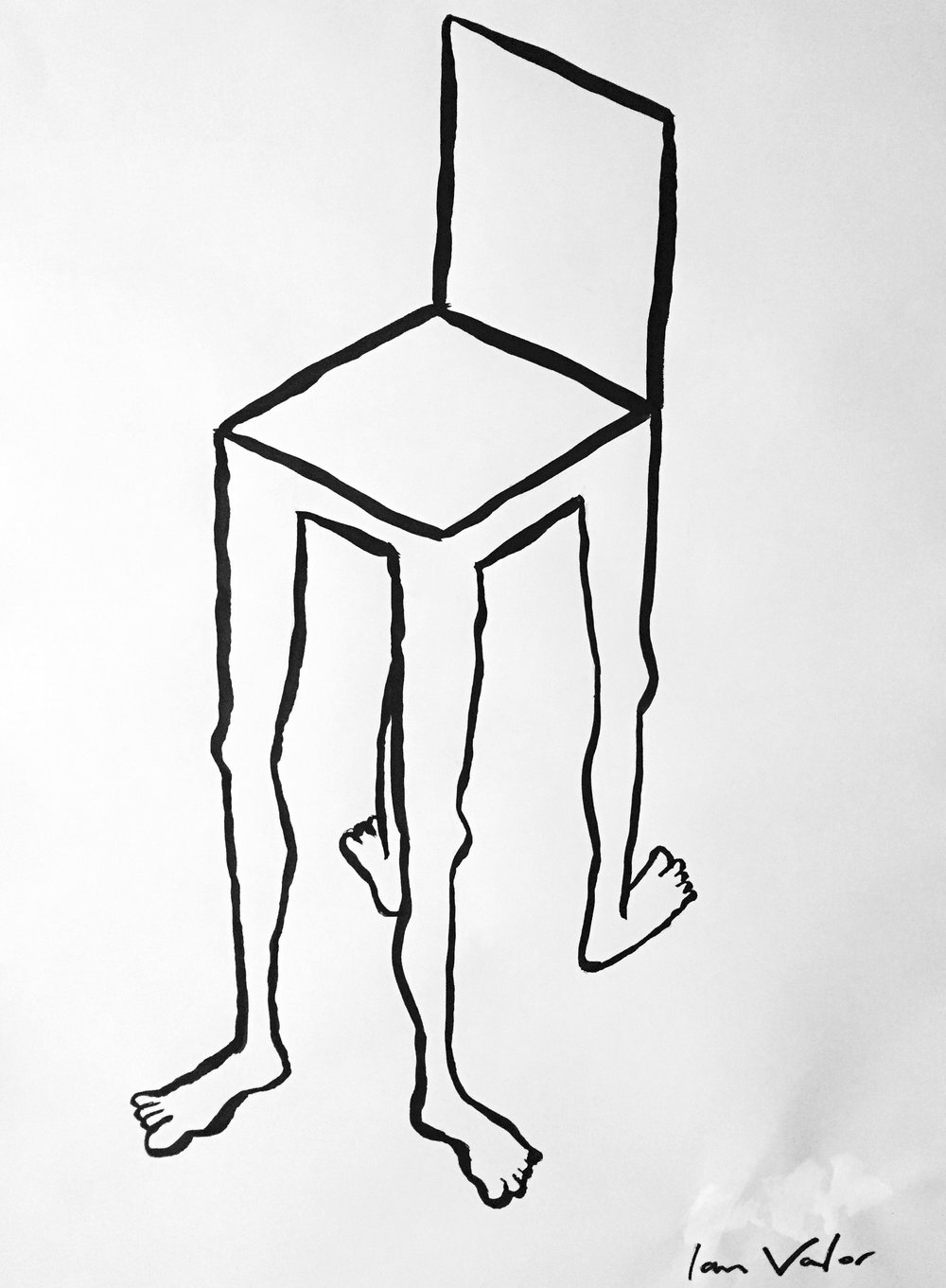 Standing Chair , 2016