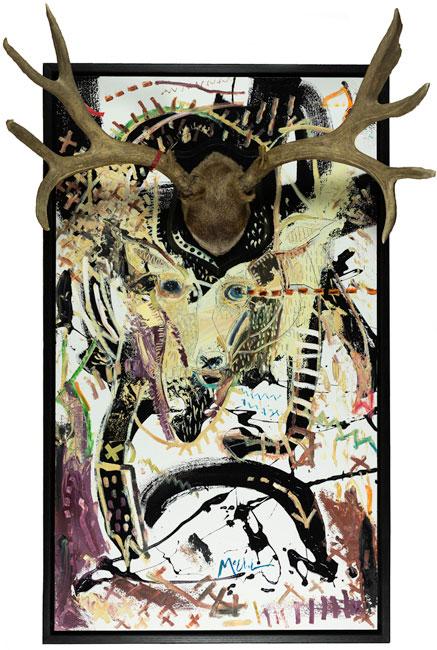 Trophy, 50.5'' x 30.5'', 2014 by: Daniel McClendon