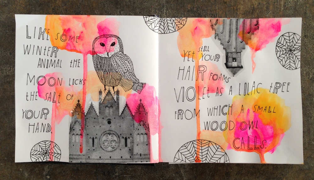 Sketchbook pages by: Lisa Congdon