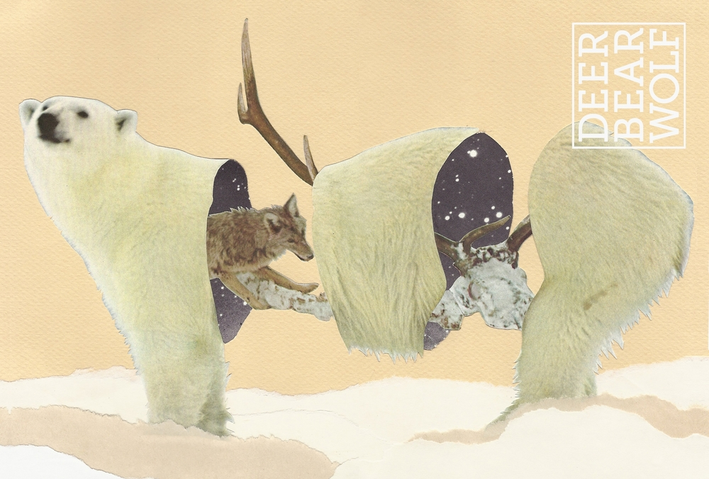 Deer Bear WolfMagazine Issue #1.Cover art by: Mike Germon.