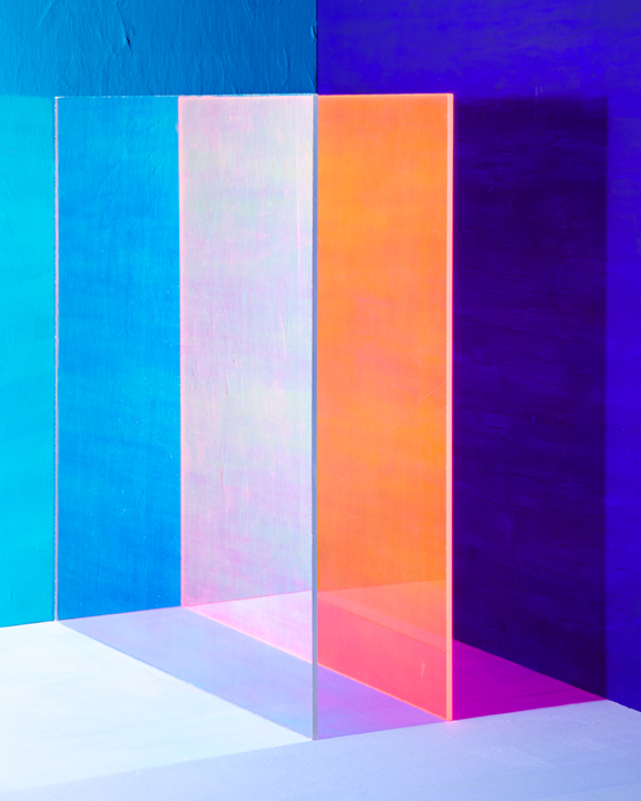 "A little bit of color for your Wednesday - courtesy of Erin O'Keefe and her photo series titled, Things As They Are. Her experience in architecture and photography meet in the middle to inform these stunning abstract pieces. In her own words (from her website bio): ""My background in architecture is the underpinning for my art practice, providing my first sustained exposure to the issues and questions that I contend with in my photographs."""