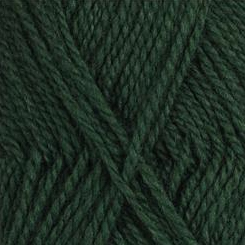 Wool 432 Dark Green Finullgarn Fine Yarn — Norskein Knitting Supply