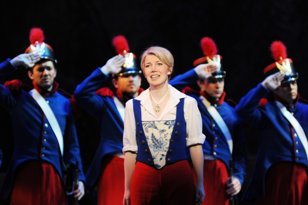 As Marie in Daughter of the Regiment at Arizona Opera