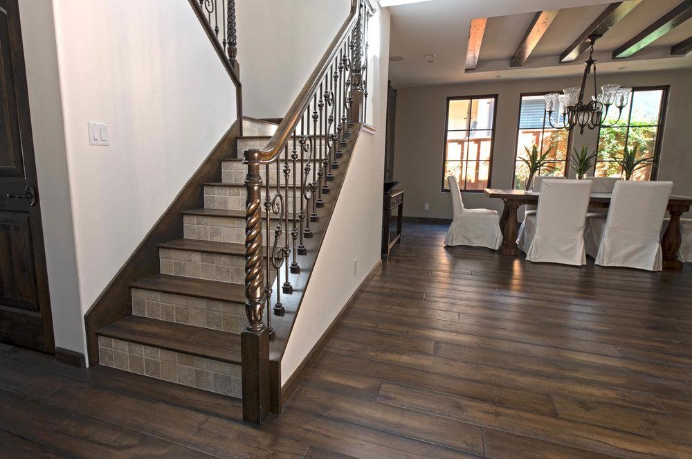 Mediterranean Custom Stairs