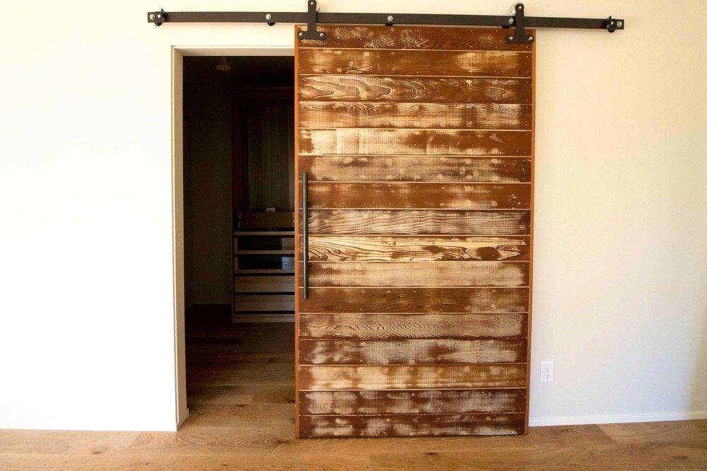 Modern Custom Barn Door