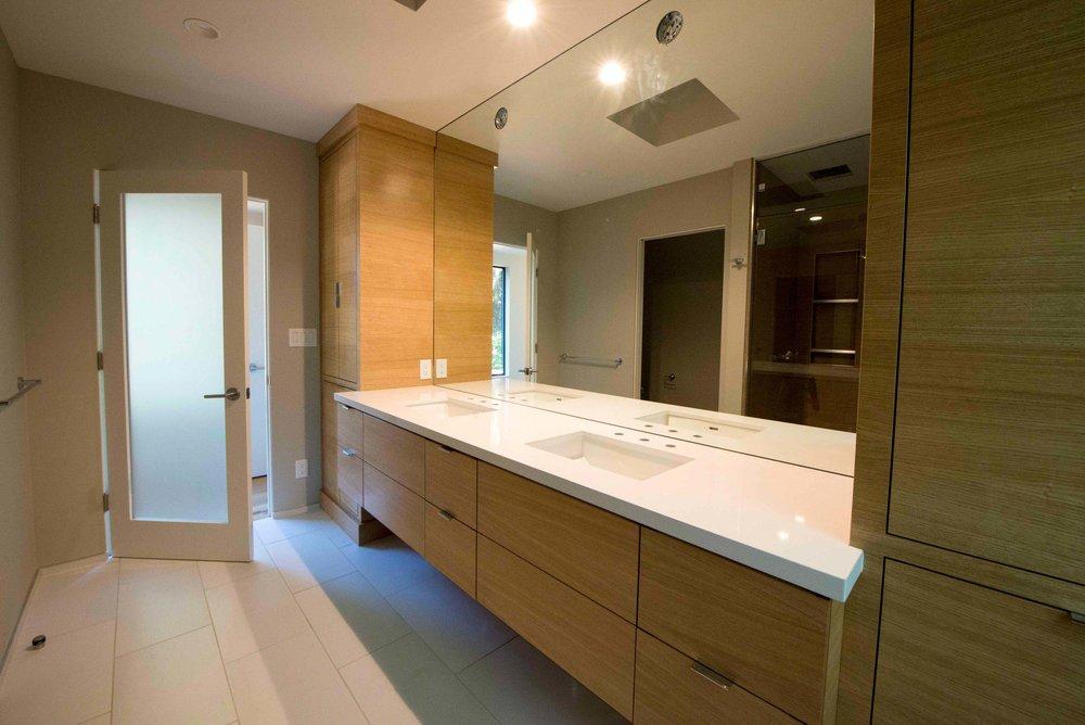 Modern Custom Master Bathroom