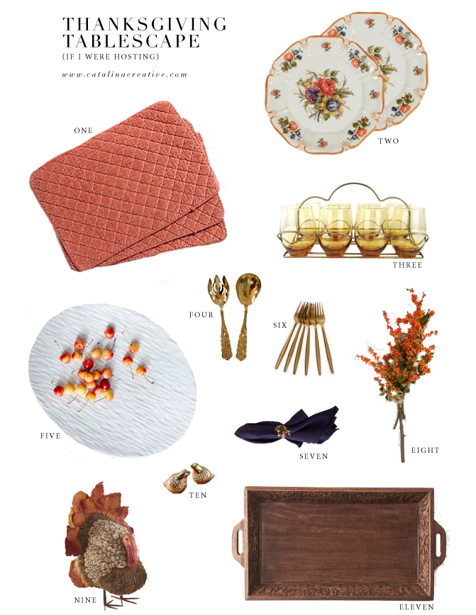 Catalina Creative Thanksgiving Tablescape