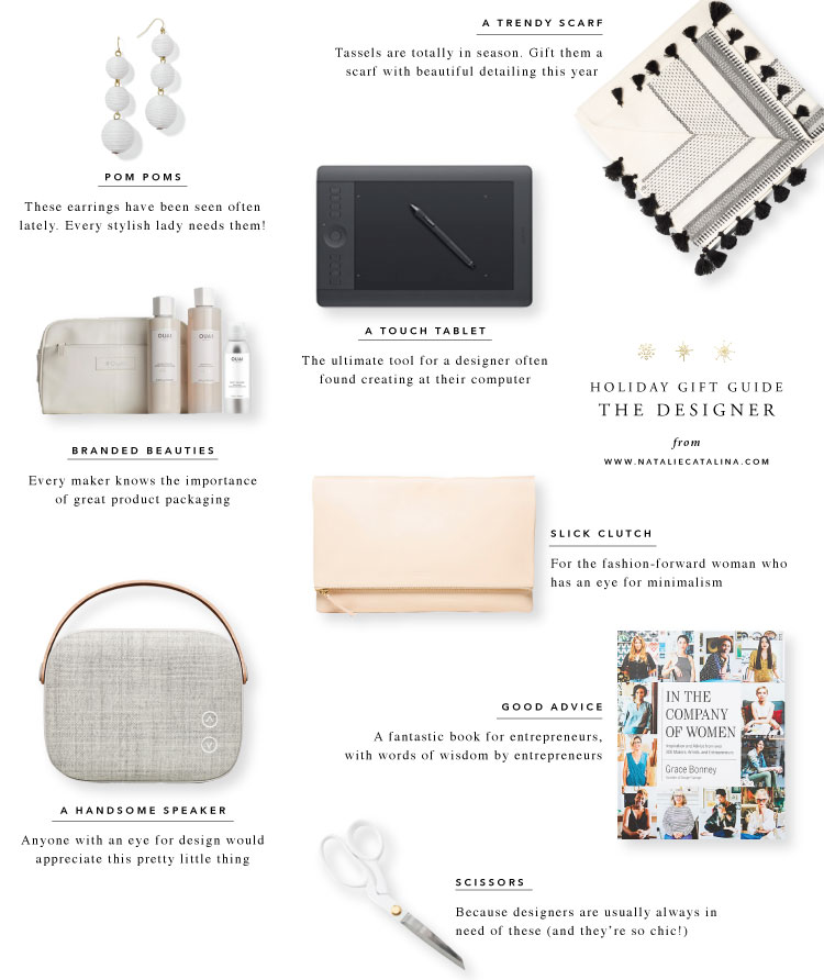 Gift Guide: The Designer
