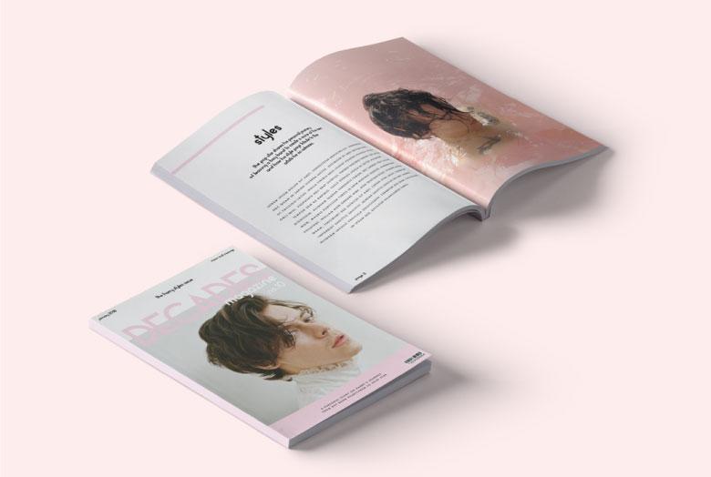 Decades Magazine by Natalie Catalina