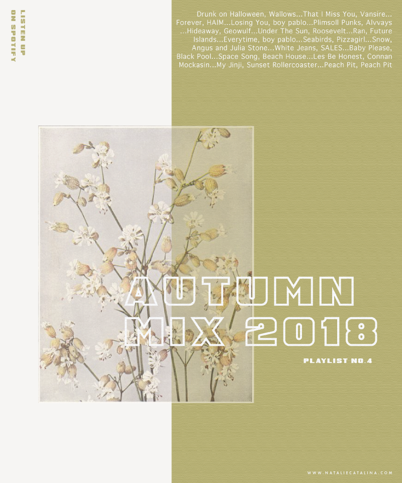 Autumn Mix 2018, on Natalie Catalina