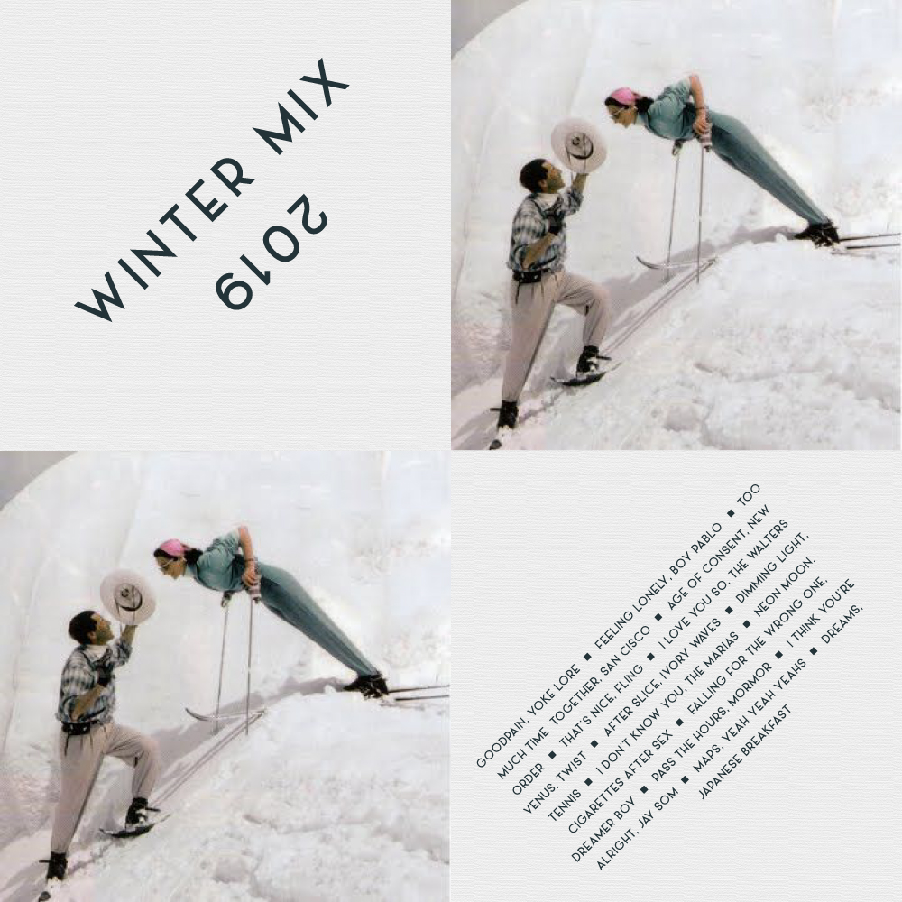 Winter Mix 2019, on Natalie Catalina