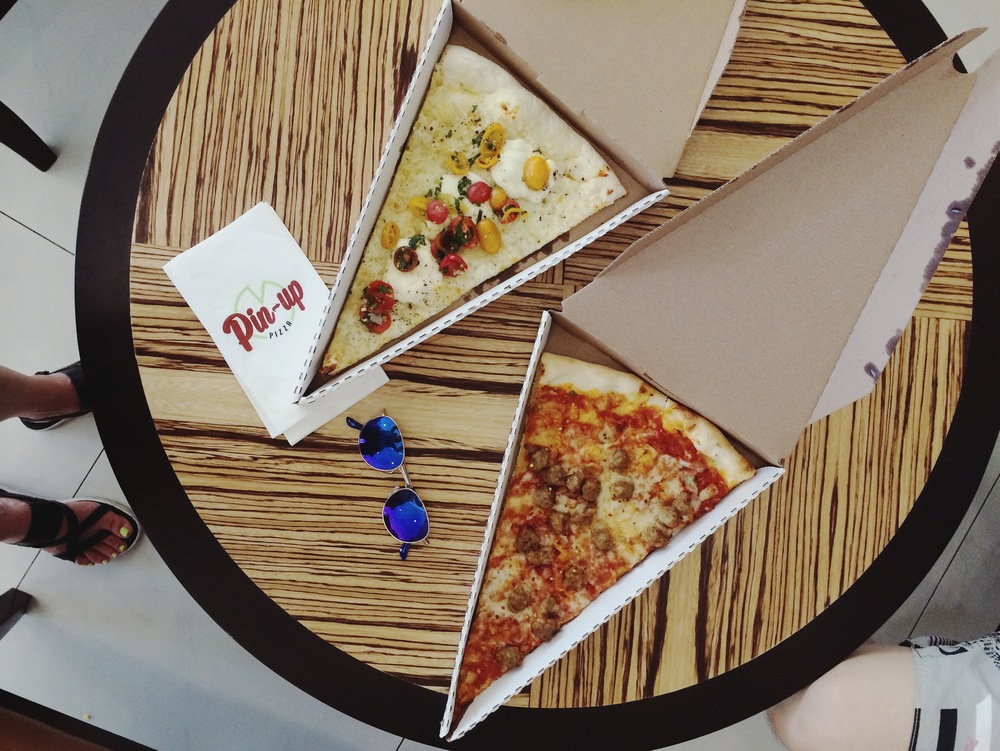 Pin-up Pizza @ the Cosmopolitan, Las Vegas, SOO GOOD.