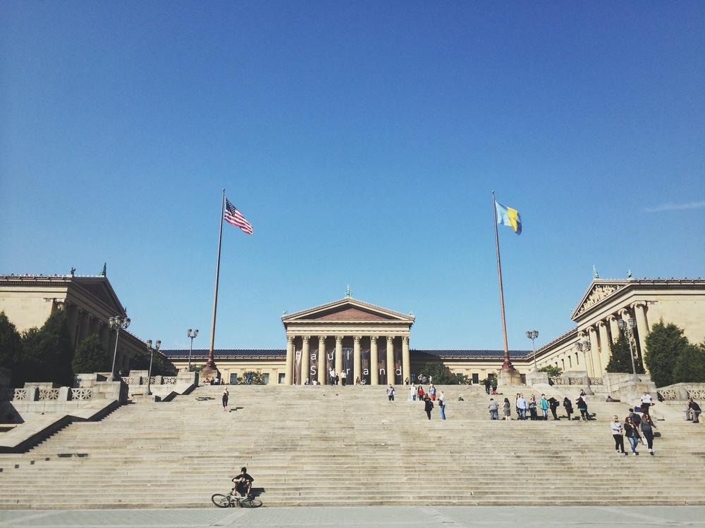 Philadelphia Museum of Art + The Rocky Steps