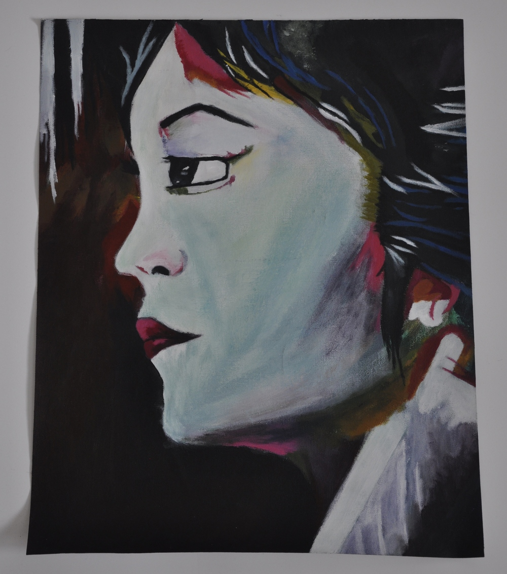 "Mother - 16: x 20"" painting - $130"