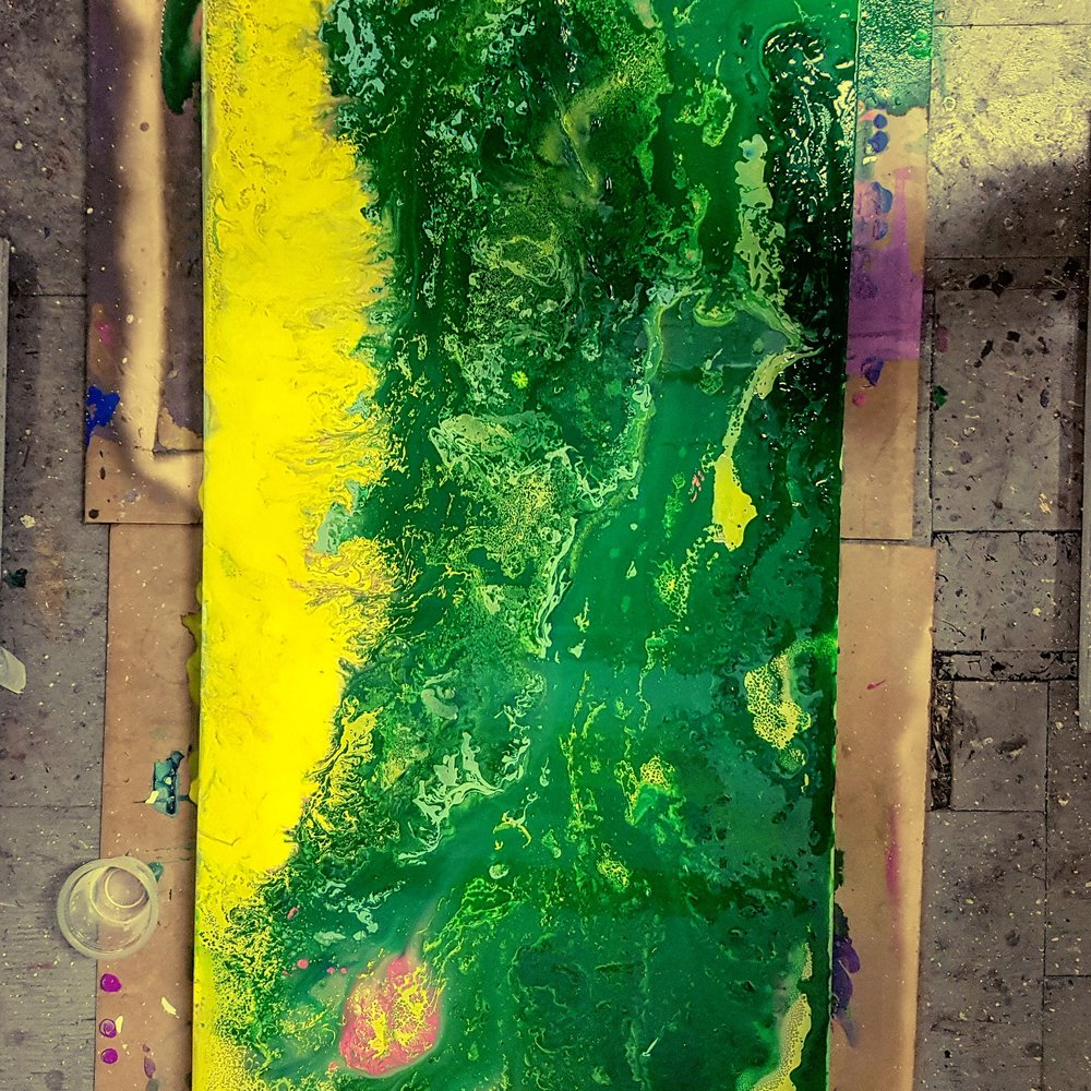 Mother Nature / 36x18in / $1100