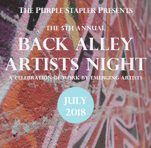 5th annual back alley artists night