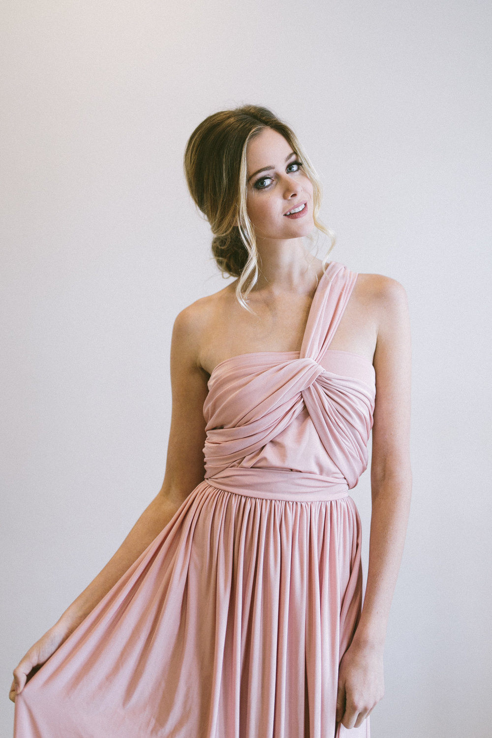 The Multi Wrap Gown — Bustle