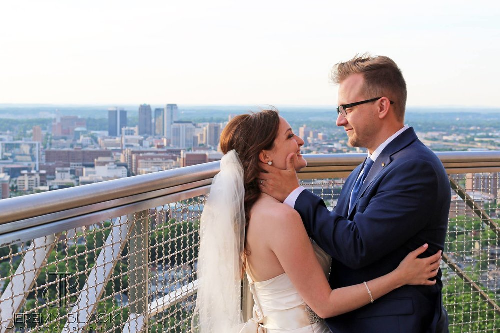 bride and groom wedding day birmingham backdrop