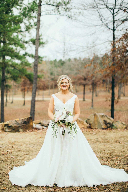 white wedding dress bridal portrait