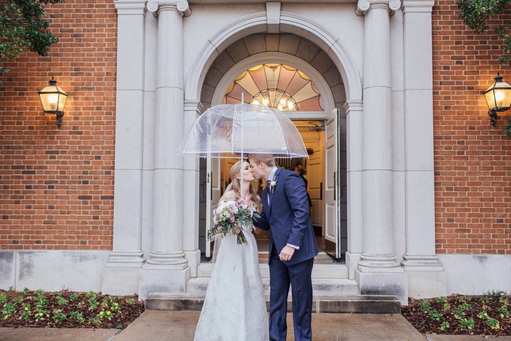 staying dry wedding dress samford