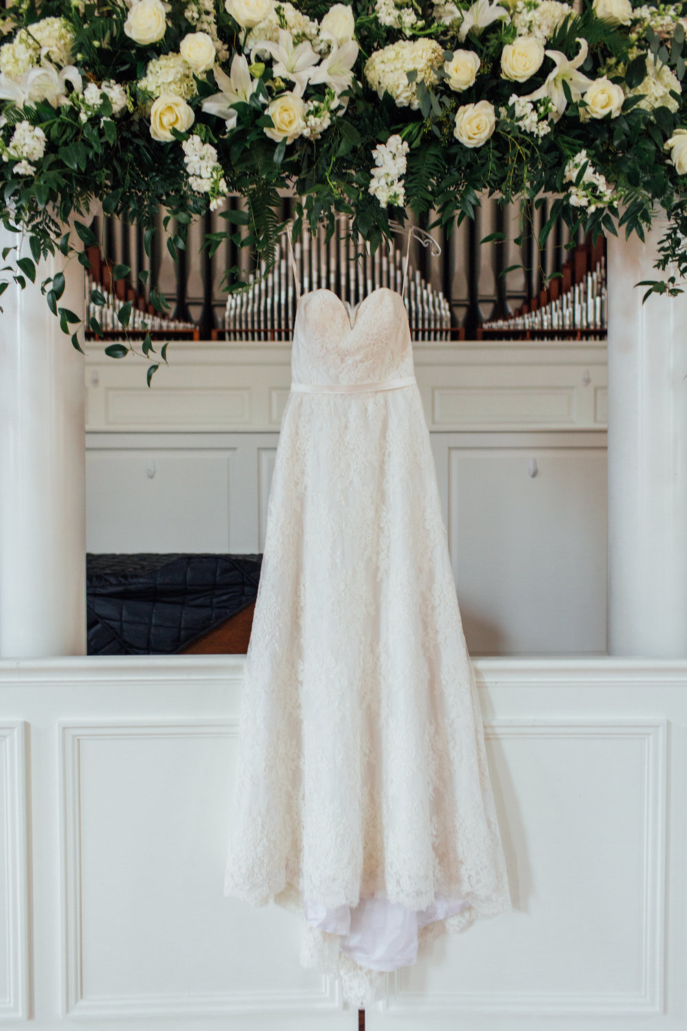 hanging wedding dress in birmingham al