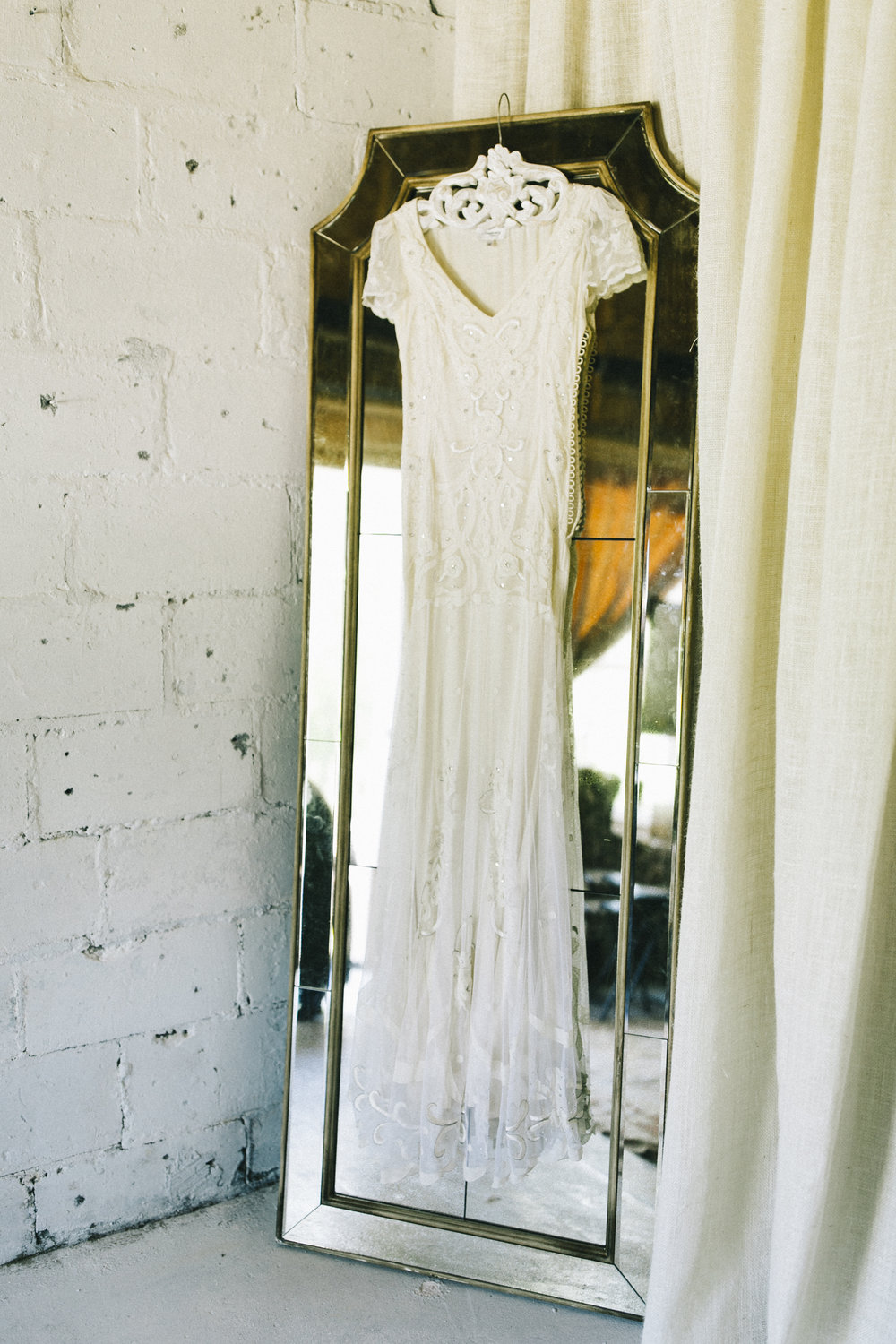 white wedding dress boho vintage Temperley London