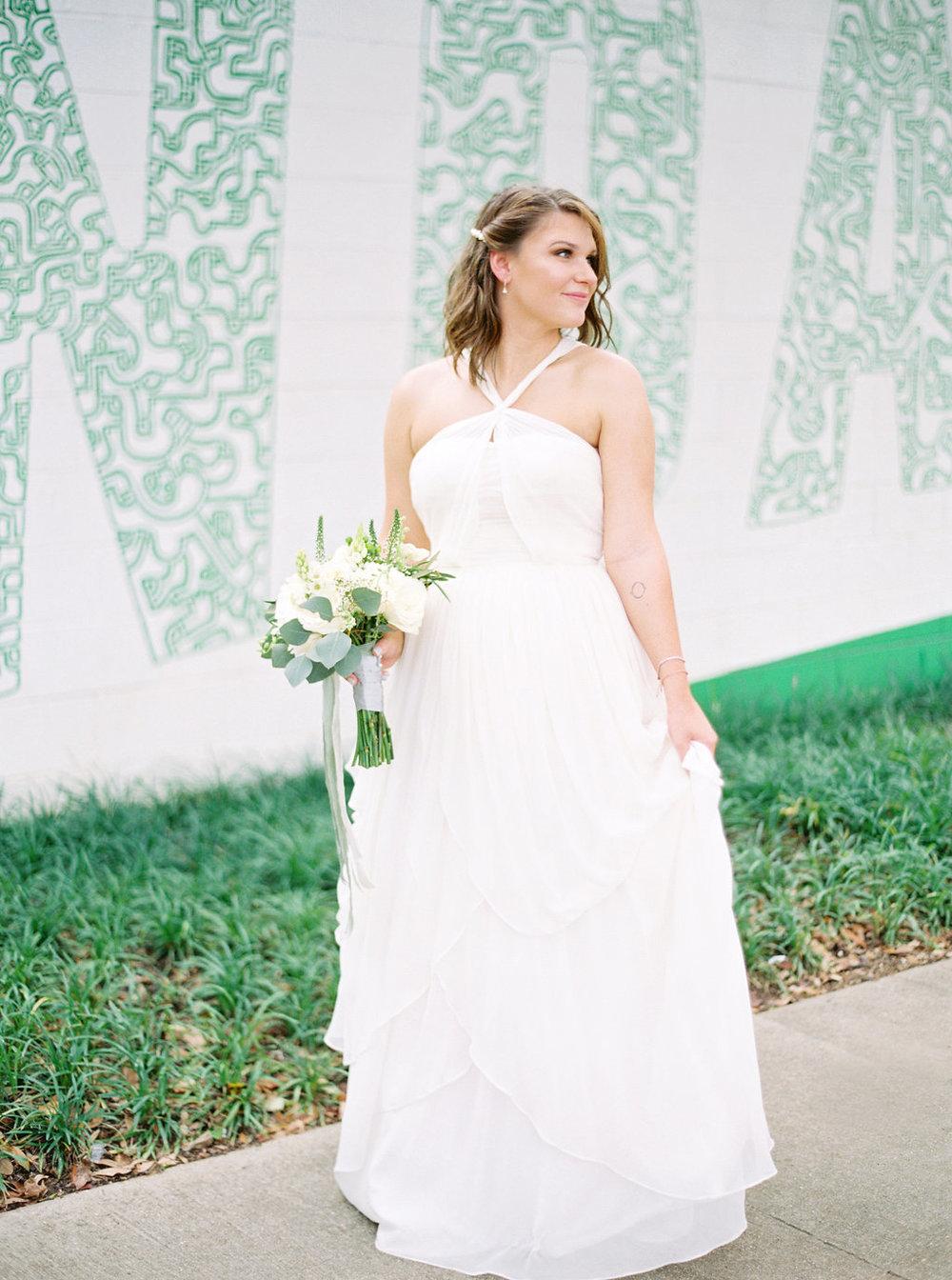 white dress alabama wedding