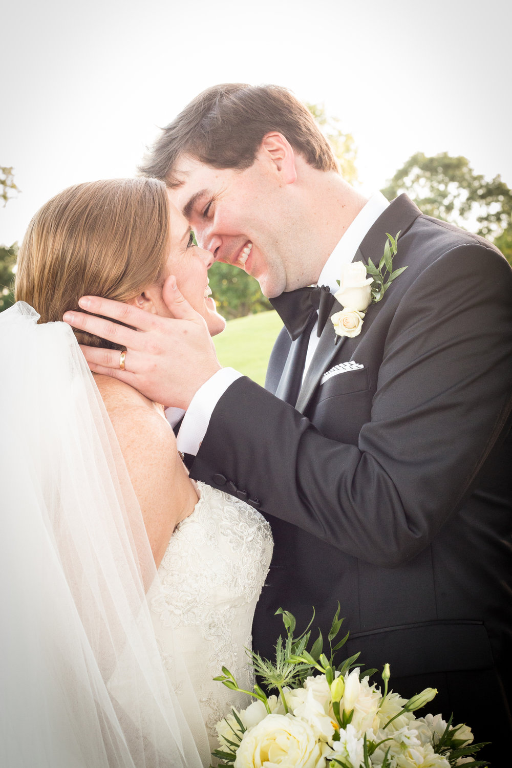 bride and groom pure joy alabama wedding