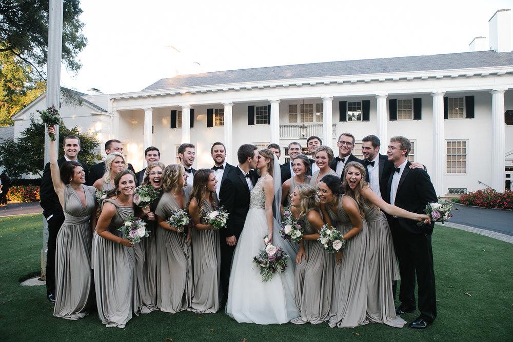 april full bridal party