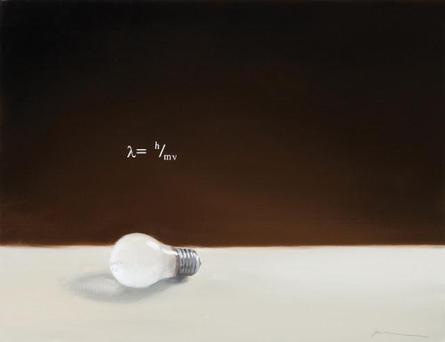 Still life with light and lightbulb
