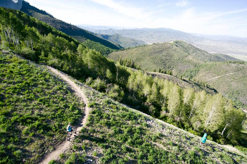 Flying Dog Trail - Park City, Utah