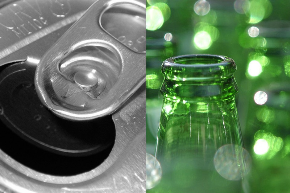 Recycle Glass & Aluminum