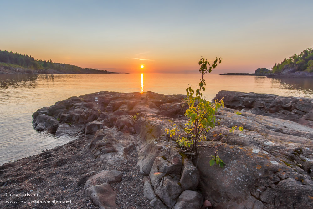 Sugar Loaf Cove on Lake Superior in Minnesota - ExplorationVacat
