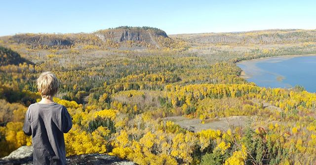 This place and these people ❤ #canada #thunderbay #minkmountain #lakesuperior #getoutmore #optoutside #fallcolors
