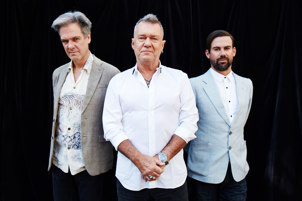Don Walker, Jimmy Barnes and Phil Jamieson  Cold Chisel and Grinspoon