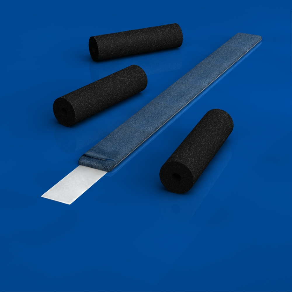22187-1600 Sterile Field Kit    Thick padded foam tubes easily slide onto all of the modular components to protect and support the patients arm and are specifically designed to enhance the functionality of the ElbowLOC  ®   Arm Positioning System. A foam strap is included to further stabilize the humerus or wrist as needed.