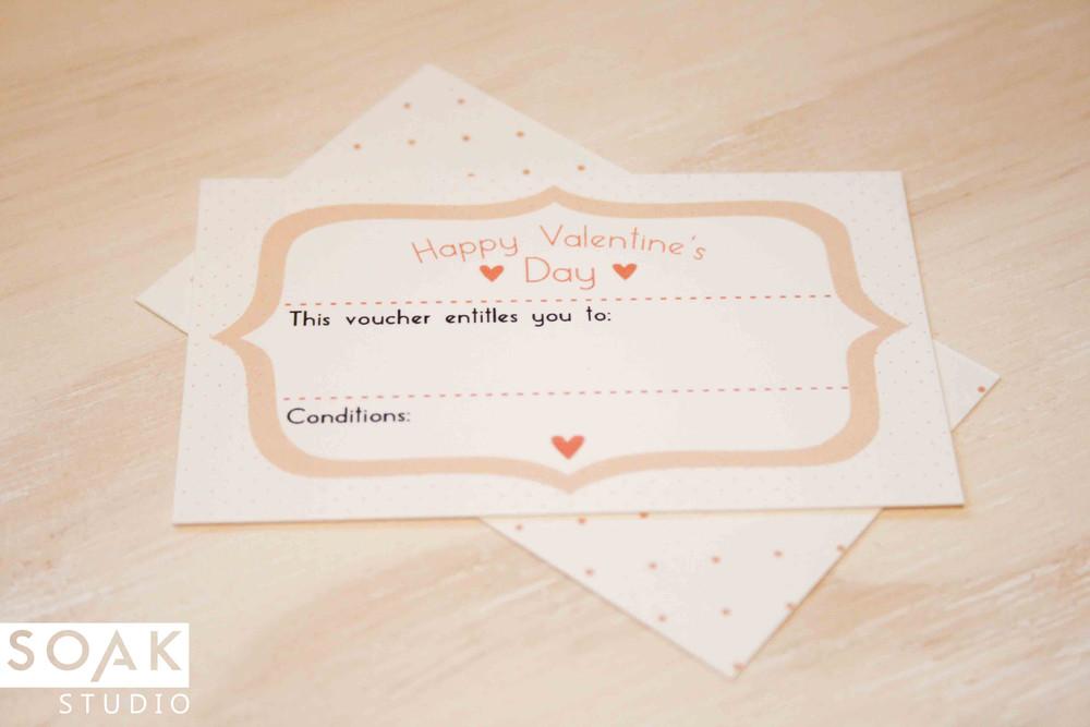 Valentine Voucher For SS  Printable Vouchers