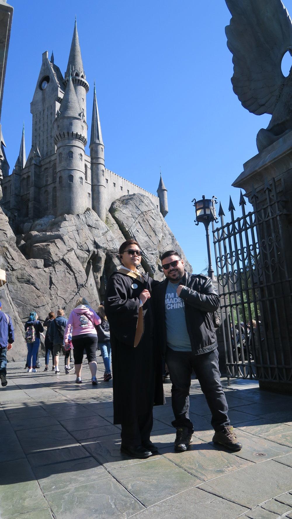Parque do Harry Potter na Universal é fantástico! Recomendo!